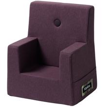 By KlipKlap KK Kids Chair Plum w. Plum Buttons