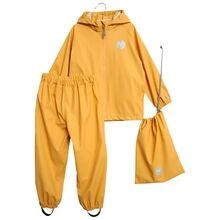 wheat-regntoej-charlie-rainwear-gul-yellow-set