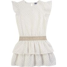 Karl Lagerfeld Kids Girl Kjole White